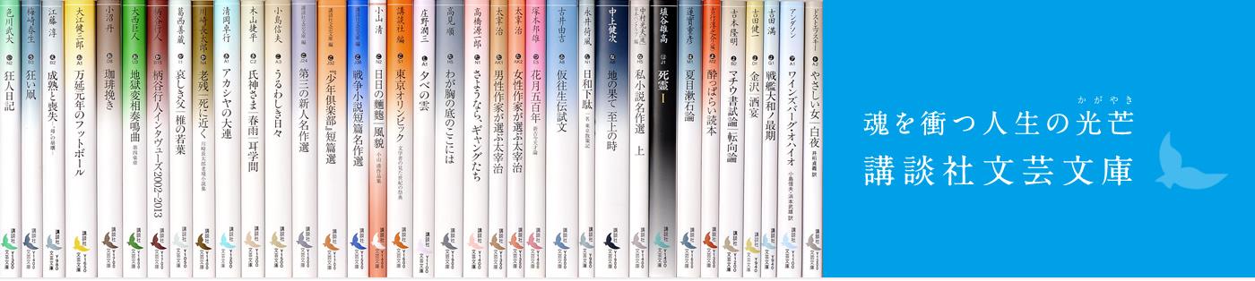 魂を衝つ人生の光芒 講談社文芸文庫